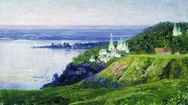 Монастырь над рекой