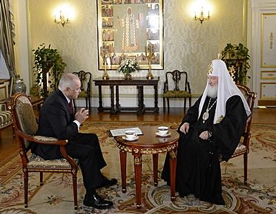 Итервью Патриарха